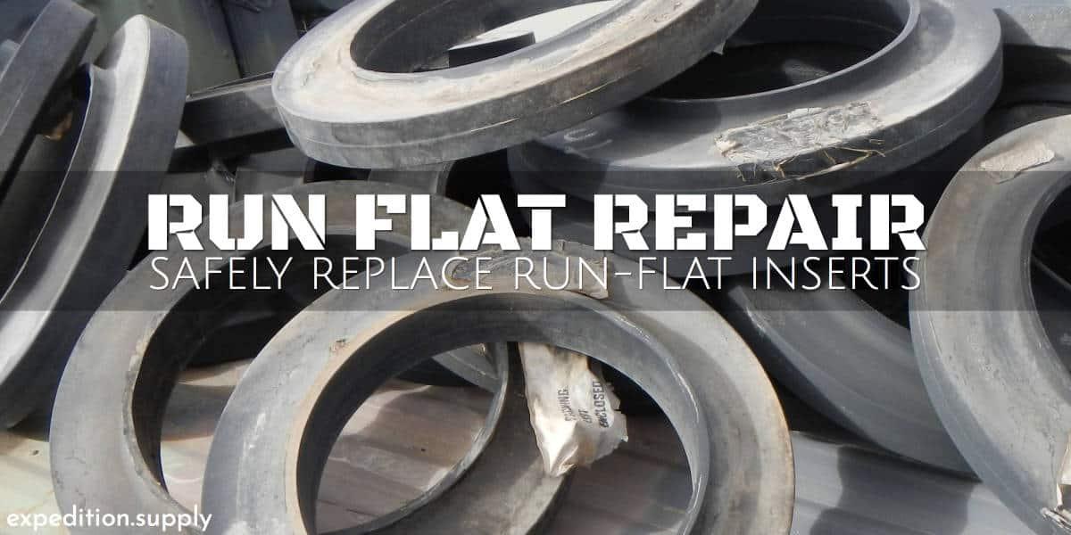 Hmmwv Trailer Run Flat Insert Repair Expedition Supply